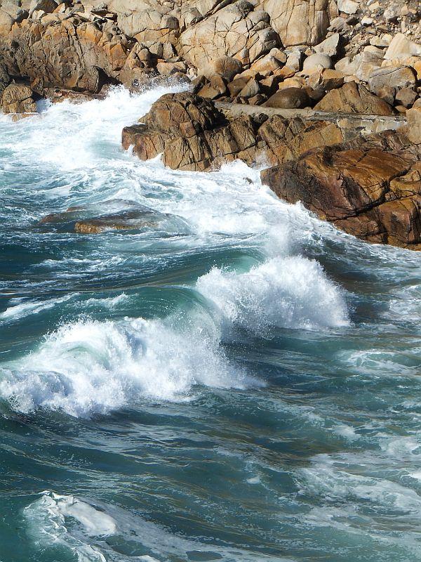 Big waves at Porth Nanven, West Cornwall ~ IanB ~ WildBits.co.uk